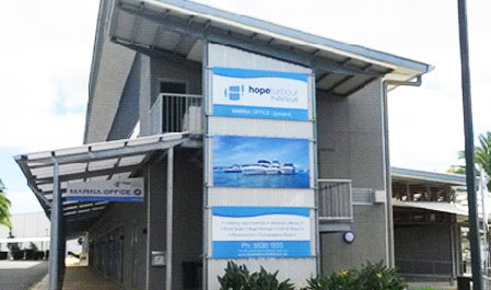 Hope Harbour Marina Office Building